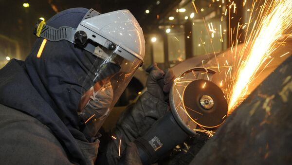 Industria de fundición de acero en Rusia - Sputnik Mundo