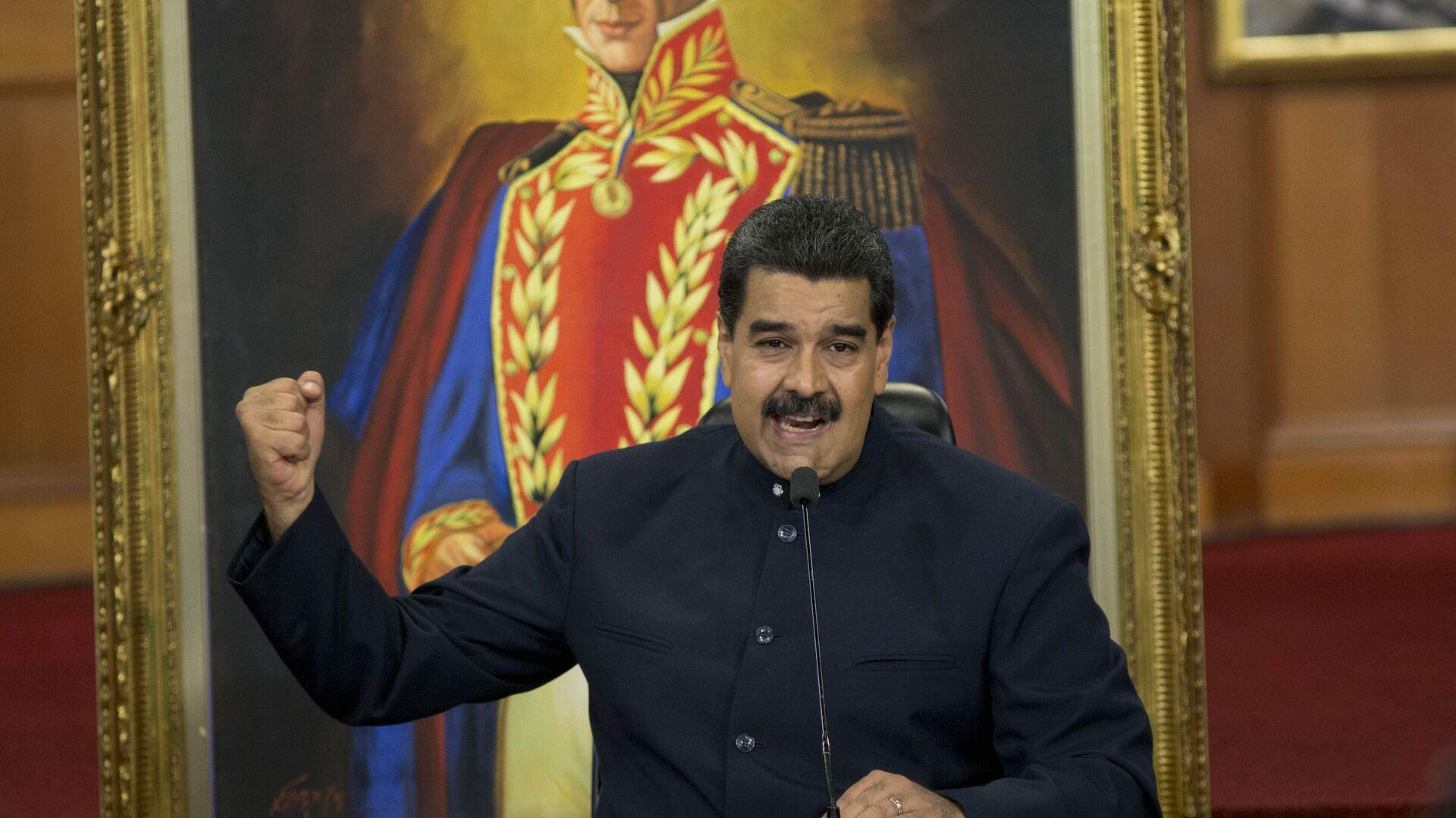 Nicolás Maduro, presidente de Venezuela - Sputnik Mundo, 1920, 21.07.2021