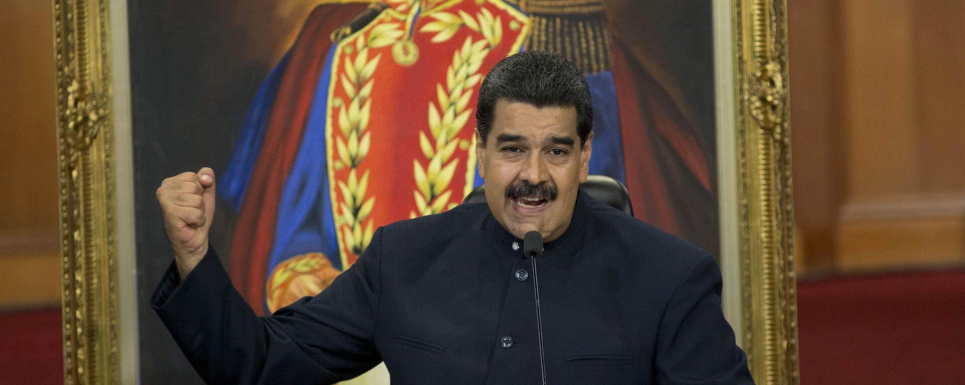 Nicolás Maduro, presidente de Venezuela - Sputnik Mundo, 1920, 02.07.2021