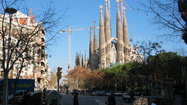 Sagrada Familia, la obra de Antoni Gaudí en Barcelona - Sputnik Mundo