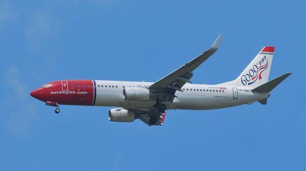 Avión de Norwegian Air (archivo) - Sputnik Mundo