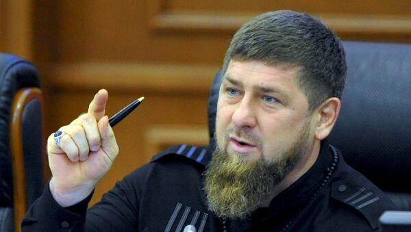 Ramzán Kadírov, líder de la república rusa de Chechenia (archivo) - Sputnik Mundo
