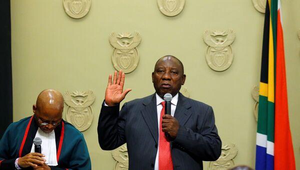 Cyril Ramaphosa, presidente electo de la República de Sudáfrica - Sputnik Mundo