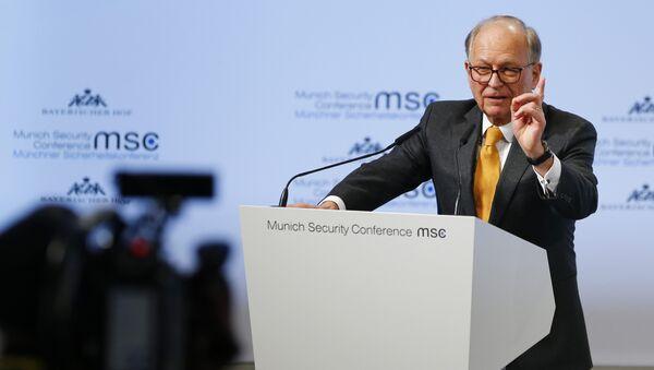 Wolfgang Ischinger, diplomático alemán, durante la inauguración de la 54 Conferencia de Seguridad de Múnich - Sputnik Mundo