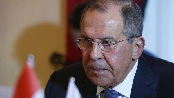 Serguéi Lavrov, el ministro ruso de Asuntos Exteriores en la Conferencia de Múnich - Sputnik Mundo
