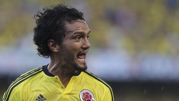 Abel Aguilar, centrocampista de la selección de fútbol de Colombia - Sputnik Mundo