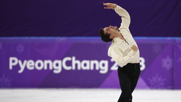 El patinador español, Javier Fernández - Sputnik Mundo