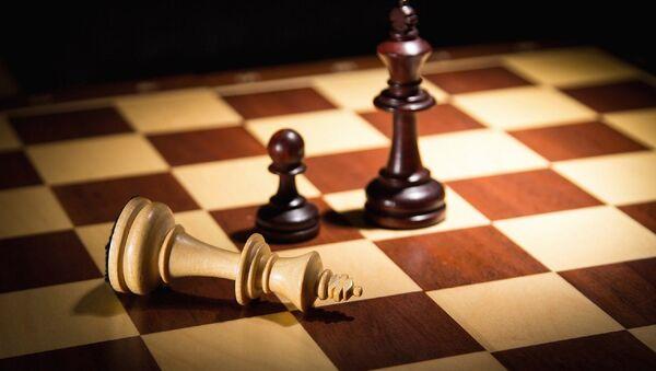 Un tablero de ajedrez - Sputnik Mundo