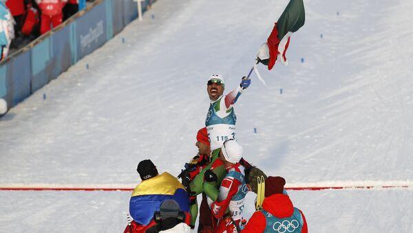 Germán Madrazo, esquiador mexicano - Sputnik Mundo