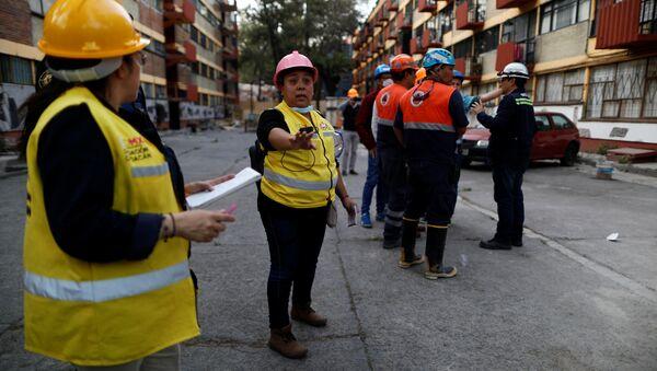 El terremoto en México - Sputnik Mundo