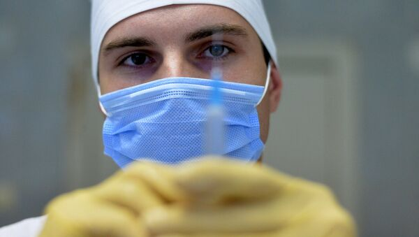 Un médico (imagen referencial) - Sputnik Mundo