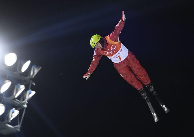 El atleta ruso Ilia Burov