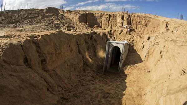 Un túnel en Gaza (imagen referencial) - Sputnik Mundo