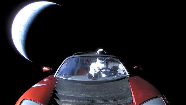 El Tesla Roadster en el espacio - Sputnik Mundo