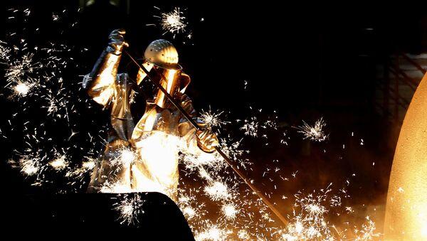 Producción de acero en Alemania - Sputnik Mundo