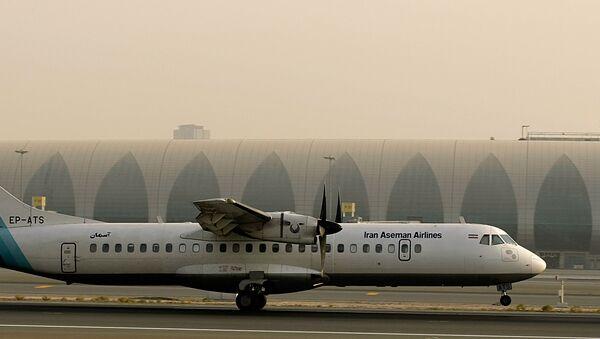 Un avión ATR 72 (archivo) - Sputnik Mundo