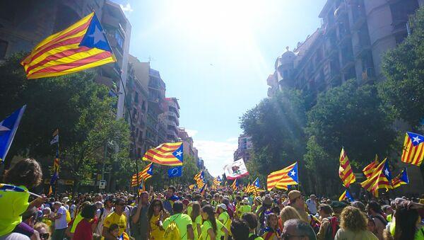 Bandera de Cataluña - Sputnik Mundo
