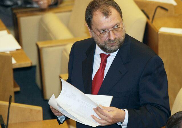 Vladislav Reznik, el diputado ruso