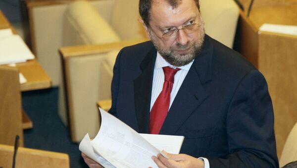 Vladislav Reznik, el diputado ruso - Sputnik Mundo