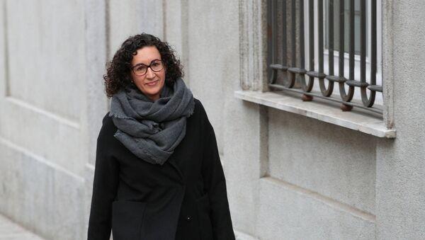 Marta Rovira, secretaria general de Esquerra Republicana de Catalunya - Sputnik Mundo