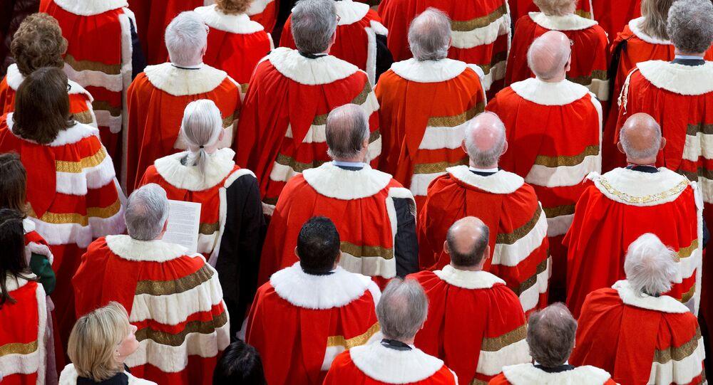 La Cámara Alta del Parlamento del Reino Unido