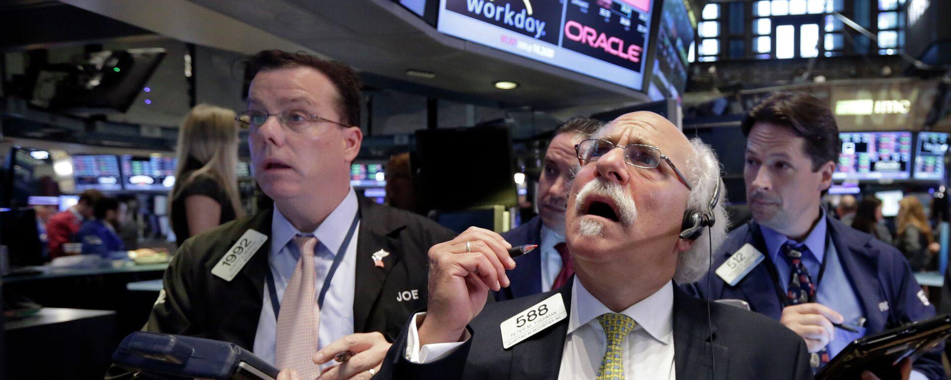 Corredor de la Bolsa de Nueva York Peter Tuchman - Sputnik Mundo, 1920, 19.07.2021