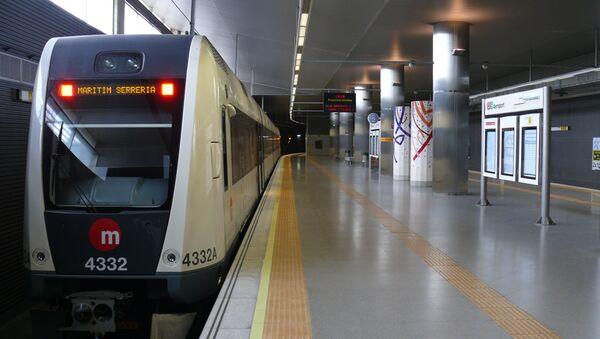 Metro de Valencia, España - Sputnik Mundo