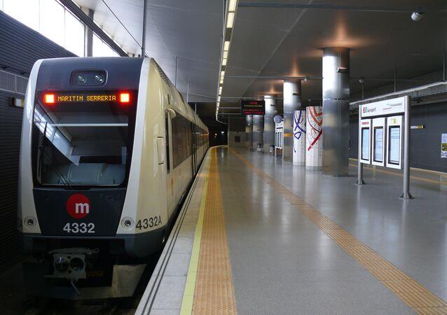 Metro de Valencia, España