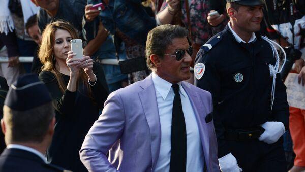 Sylvester Stallone en el Festival de Cine de Cannes (archivo, 2014) - Sputnik Mundo