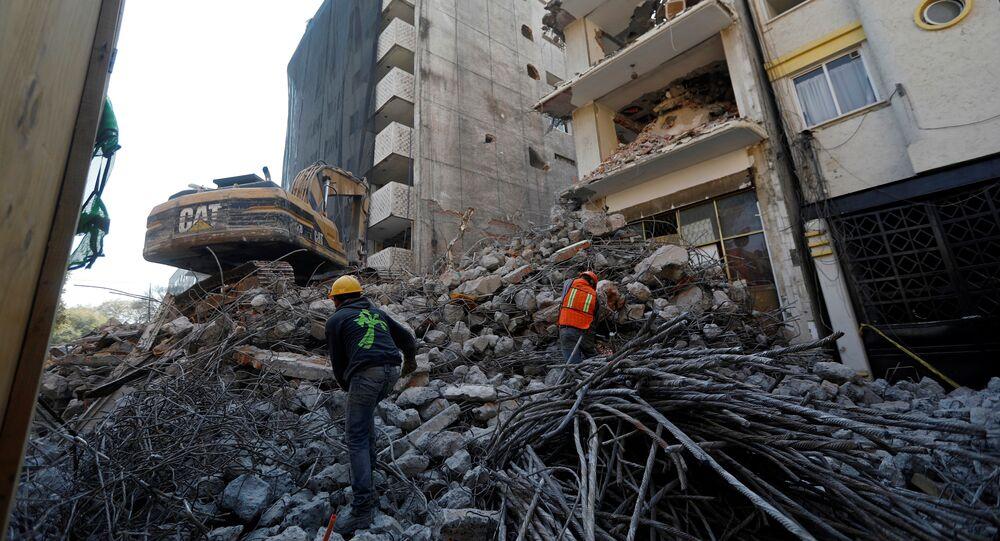 Consecuencias de un terremoto en Ciudad de México