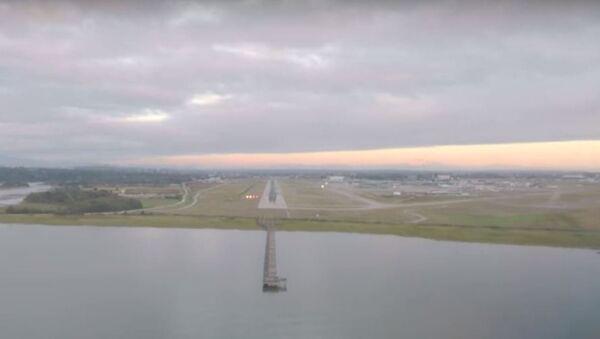 El aterrizaje de un A380 - Sputnik Mundo