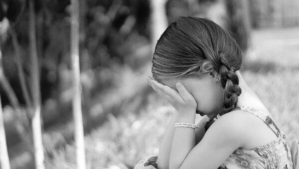 Una niña pequeña (imagen referencial) - Sputnik Mundo