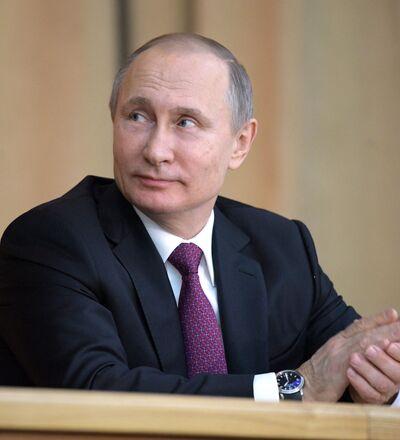 Vladímir Putin, candidato independiente