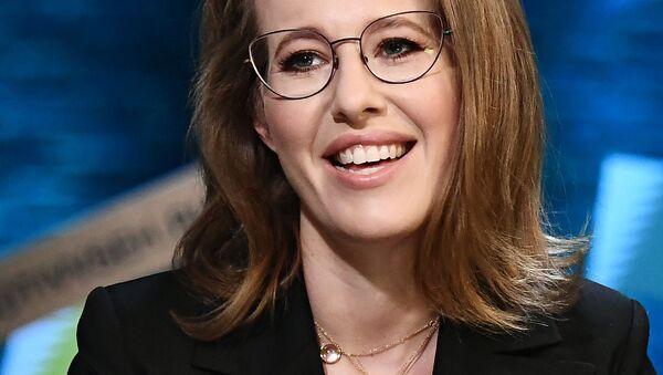 Ksenia Sobchak, del partido Iniciativa Civil - Sputnik Mundo