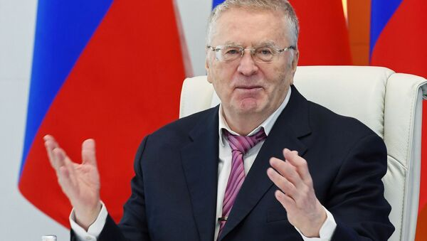 Vladímir  Zhirinovski, líder del Partido Liberal-Demócrata de Rusia (LDPR) - Sputnik Mundo