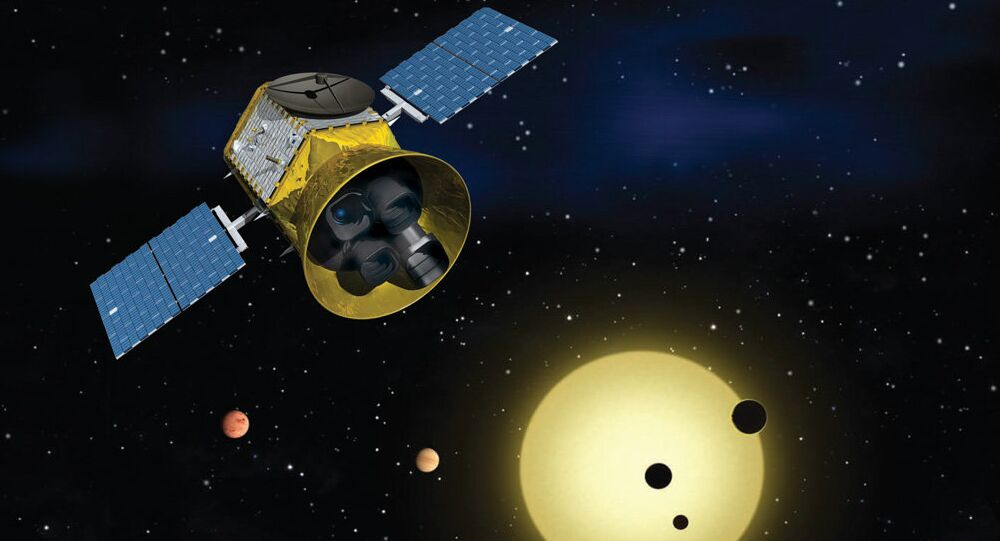 El satélite Transiting Exoplanet Survey (TESS) de la NASA