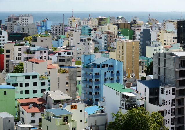 Malé, la capital de Las Maldivas