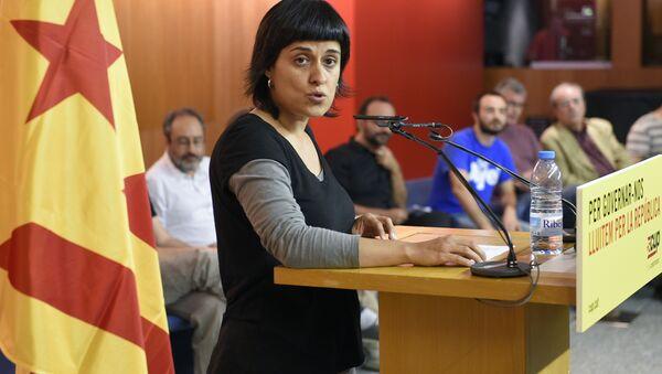 Anna Gabriel, la exdiputada catalana de la Candidatura d'Unitat Popular (CUP) - Sputnik Mundo
