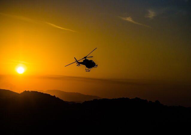 Helicóptero (imagen referencial)