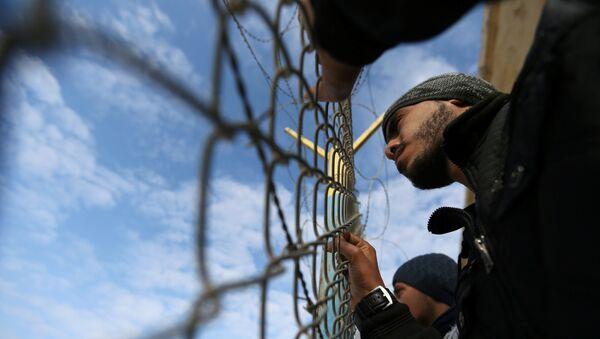 El paso fronterizo de Rafah entre la Franja de Gaza y Egipto - Sputnik Mundo