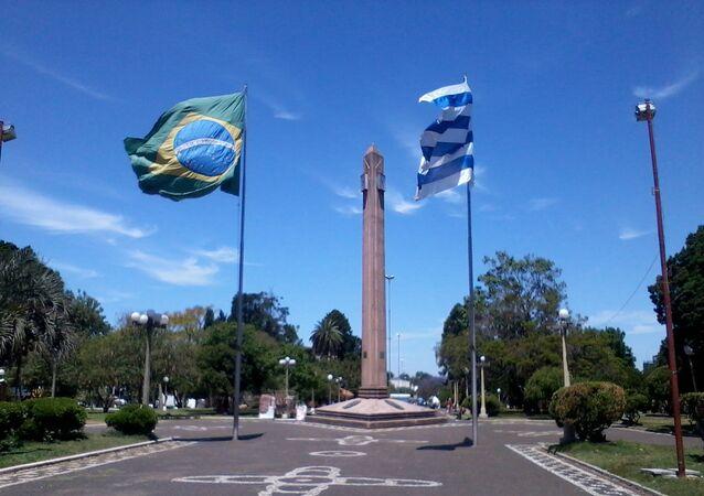 Frontera de la Paz entre Uruguay y Brasil