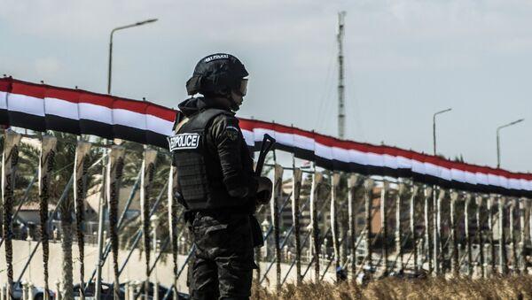 Policía de Egipto (imagen referencial) - Sputnik Mundo
