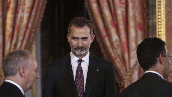 Felipe VI, el monarca español - Sputnik Mundo