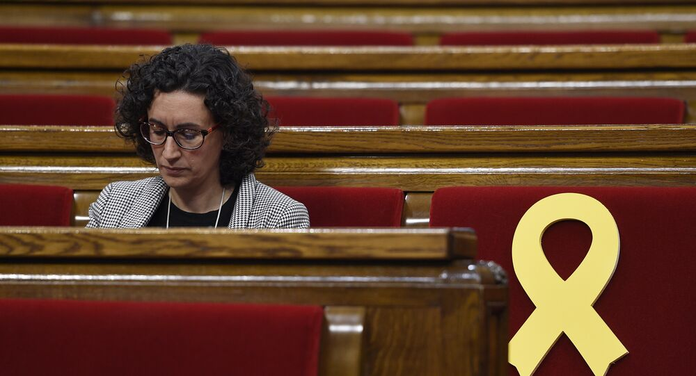 Marta Rovira, secretaria general de Esquerra Republicana de Cataluña (ERC)