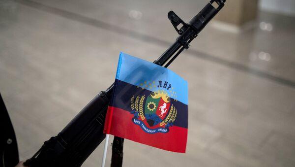 Bandera de la autoproclamada República Popular de Lugansk - Sputnik Mundo