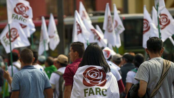 Los partidarios de FARC (archivo) - Sputnik Mundo