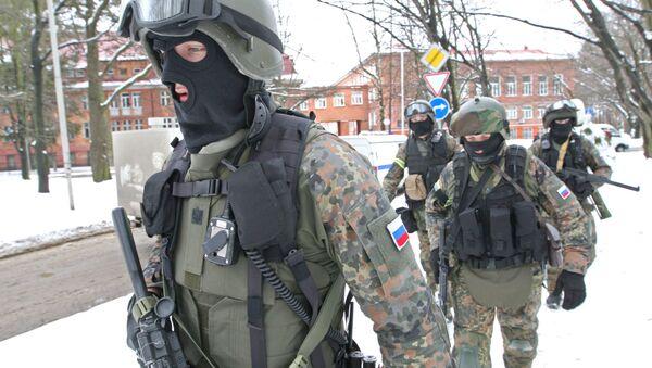 El FSB durante unos ejercicio antiterroristas - Sputnik Mundo