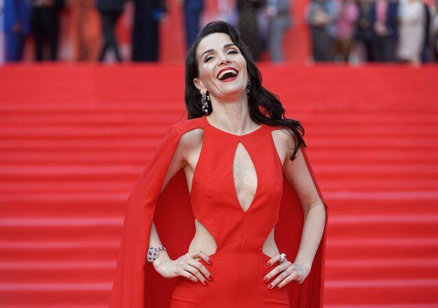 Natalia Oreiro en el 38º Festival Internacional de Cine de Moscú