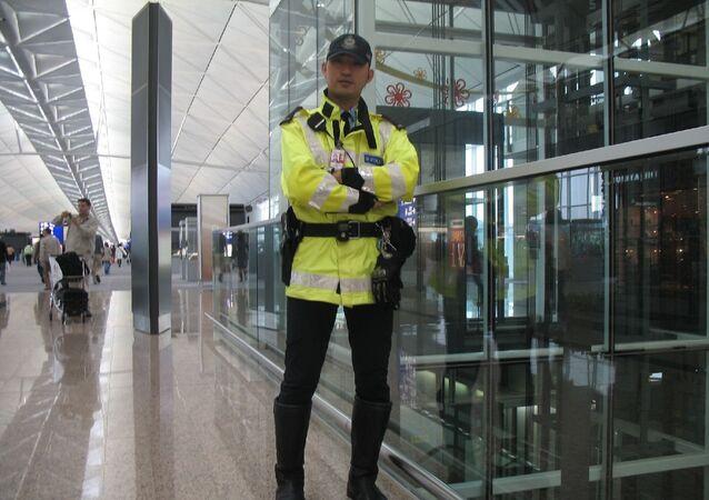 Seguridad del aeropuerto de Hong kong