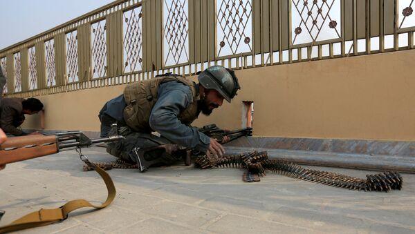 Un policía afgano - Sputnik Mundo